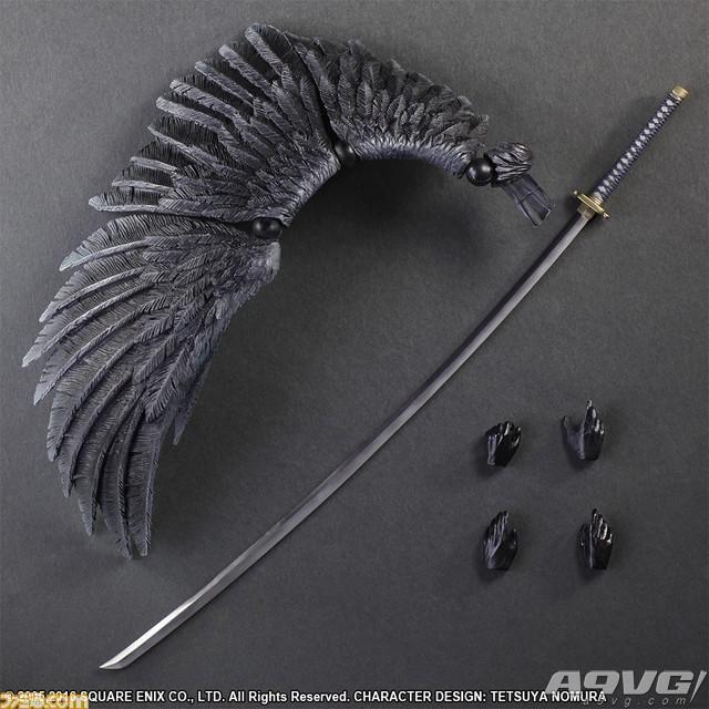 《最终幻想7:圣子降临》萨菲罗斯Play Arts改手办公布 12月上市