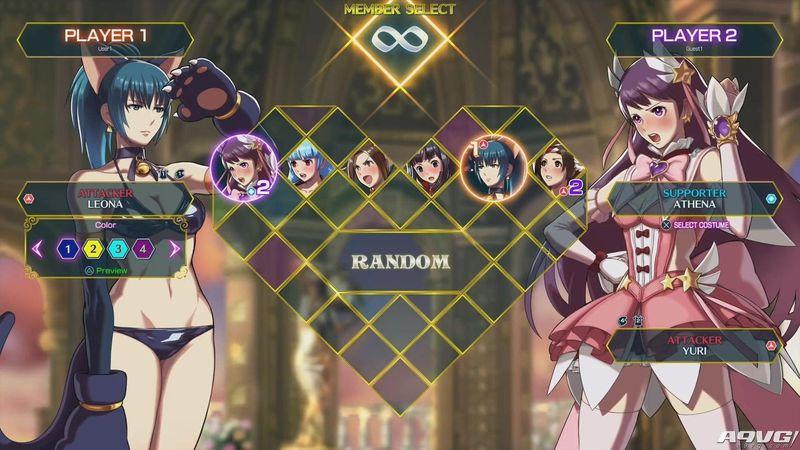 《SNK女主角组队热斗》公布日版发售日 初期可用角色有14人
