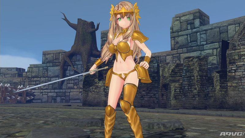 《子弹少女 幻想曲》繁体中文版同步发售 中文游戏画面公开