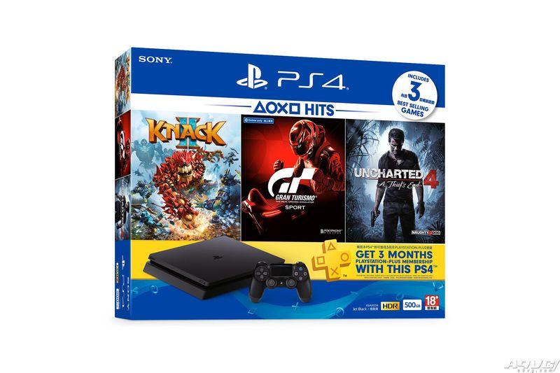 PS4及3款好评游戏将以港币2380元「HITS」同捆组发售