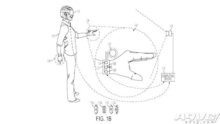 索尼为新型手套型控制器注册专利