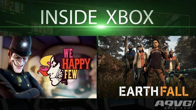 Inside Xbox 第五期要闻回顾 多款作品即将上线