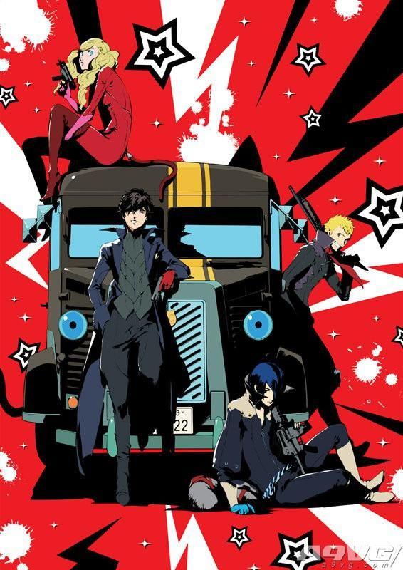 《女神异闻录5》12月7日发售动画BD/DVD 附带活动优先售票券