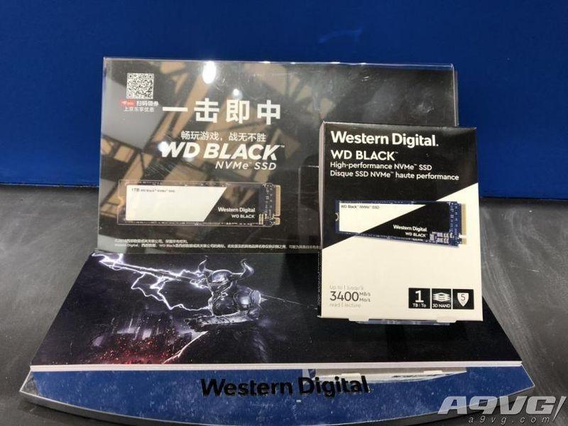 为极速游戏而生! 两款重磅新品亮相CJ2018西部数据展台