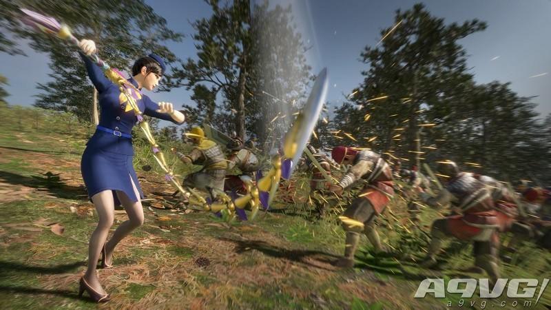 《真三国无双8》追加服装DLC第3弹今日上架 上演制服诱惑