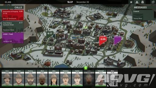 黑色剧情游戏《这就是警察2》8月2日发售 新增战略要素