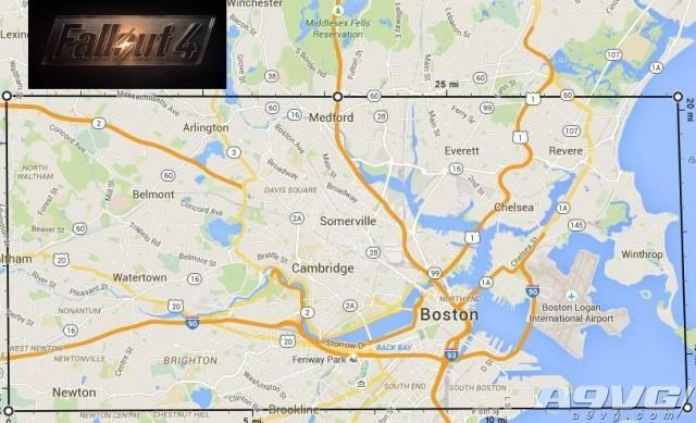 《辐射4》地图到底有多大 分析地图告诉你