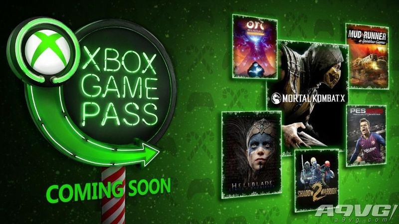 Xbox Game Pass12月新增《实况足球19》《真人快打X》等
