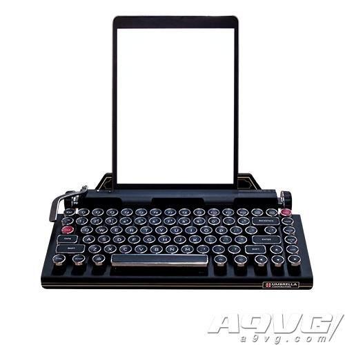 《生化危机2重制版》推出打字机风蓝牙键盘 再现原作氛围