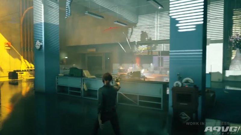 《控制》实机演示 内容上将强调环境的运用