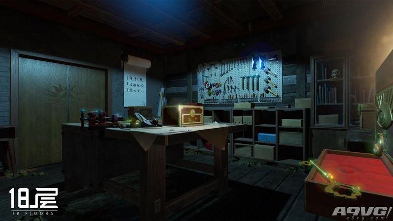 《18层》评测:内容欠缺明显的标准密室逃脱式VR作品
