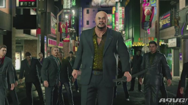 《如龙Online》发布TGS宣传片 展示游戏人物与游戏特性
