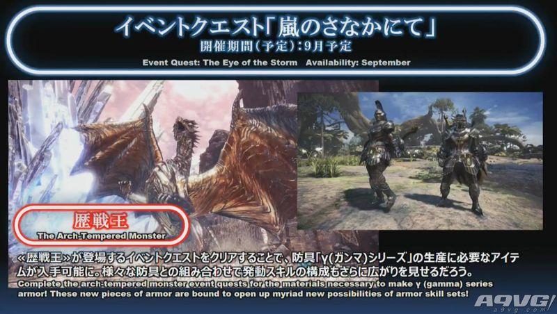 《怪物猎人世界》新历战王任务公布 强化贝希摩斯月中登场