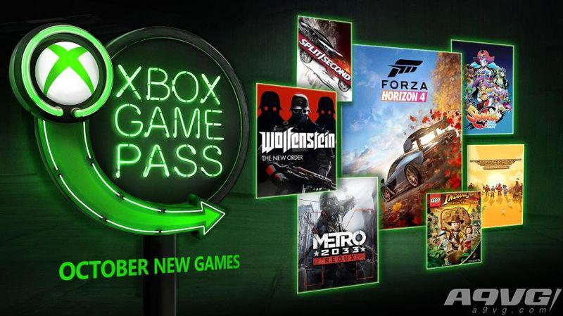 Xbox Game Pass10月阵容:《极限竞速:地平线4》等加入