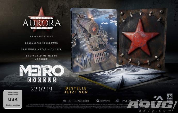 《地铁:大逃亡》限定版内容公开 包含季票和游戏原画
