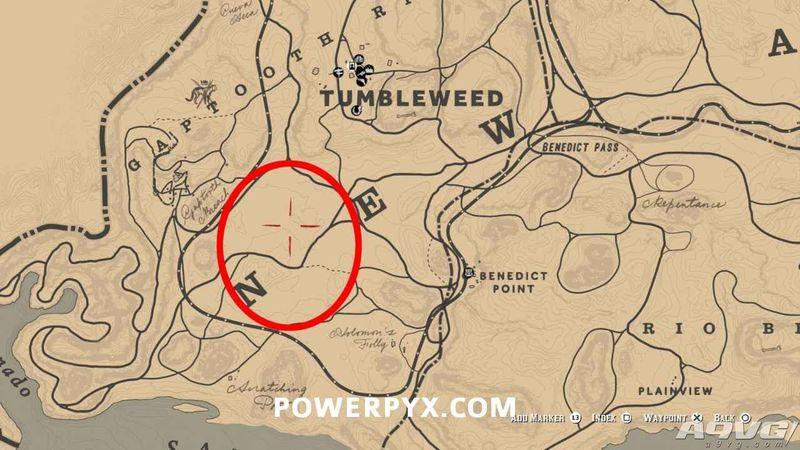 《荒野大镖客2》马术大师挑战全马匹位置一览