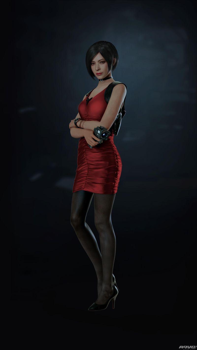 《生化危机2 重制版》高清渲染人设图公开 艾达王美如画