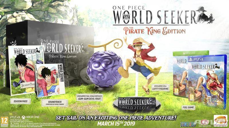 《海贼王 寻秘世界》欧美版发售日确定3月15日 限定版公开