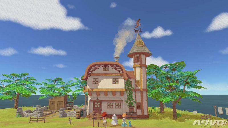 《小龙咖啡馆》评测:充满幻想童话风的田园生活
