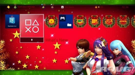 《拳皇14》新DLC公布:雅典娜圣诞服装及主题12月20全球上线