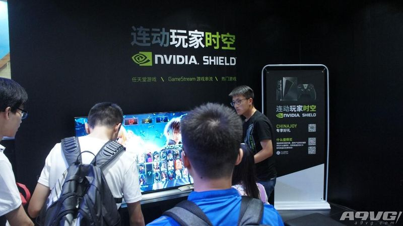 NVIDIA ChinaJoy2018展台巡礼 SHIELD主机引爆全场