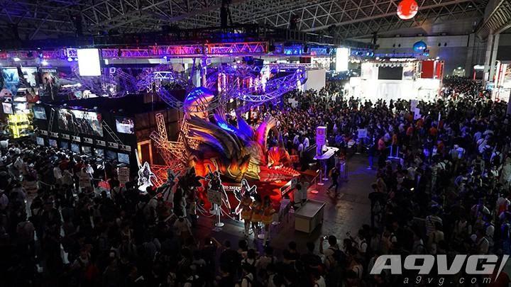 TGS 2018 万代南梦宫展台场照