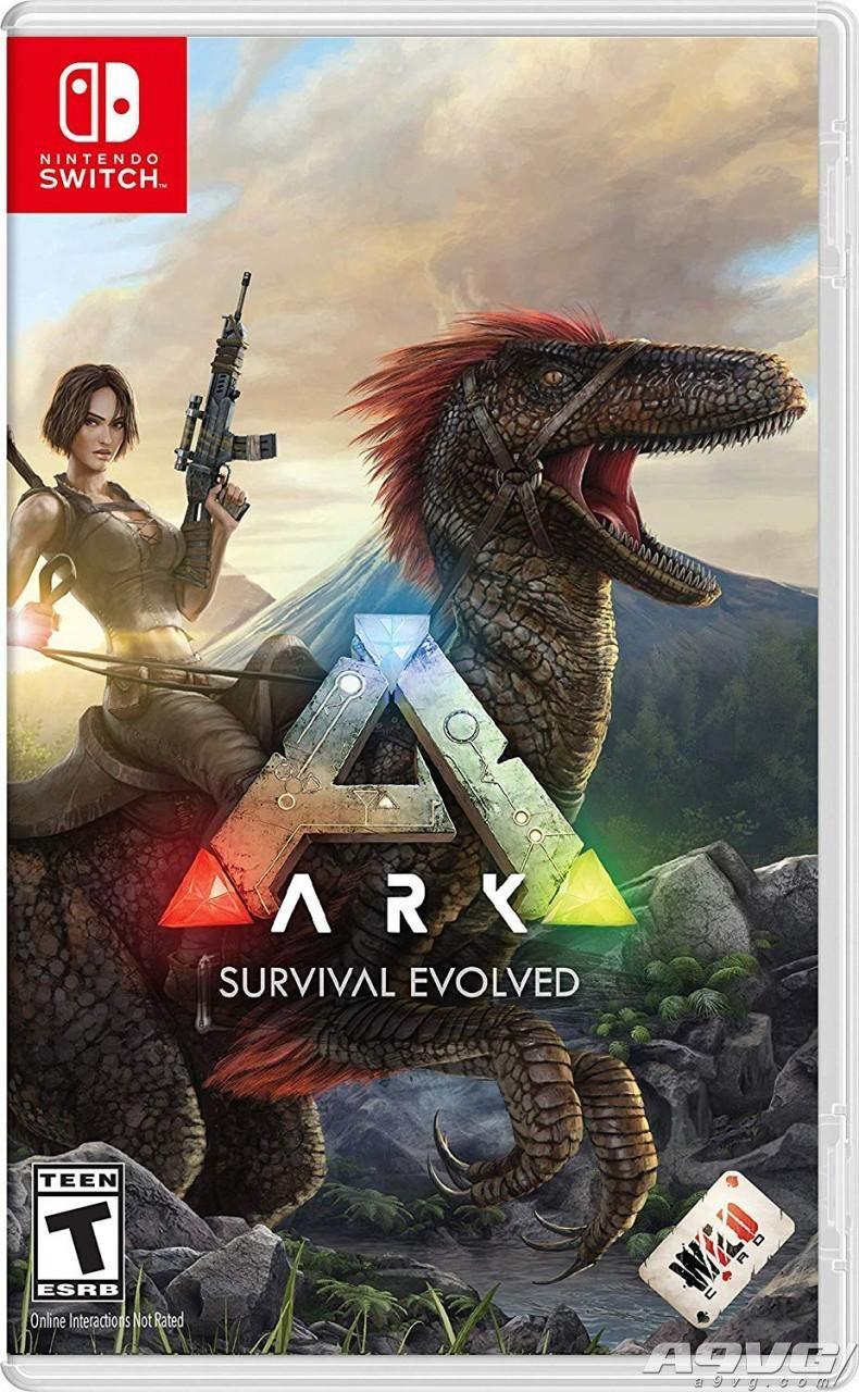 Switch版《方舟:生存进化》11月30日发售 支持中文