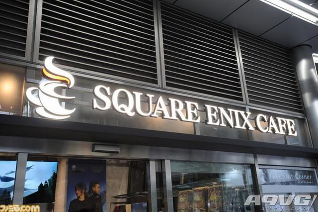 秋叶原SQUARE ENIX CAFE今日开张 海量现场图放出