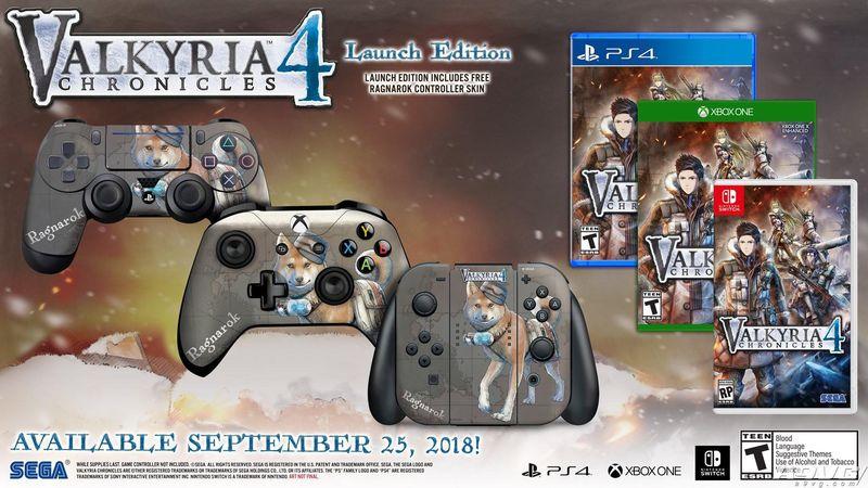 《战场女武神4》公布欧美版发售日期 包含Switch版本