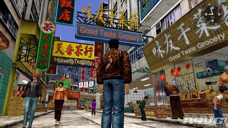 PS4《莎木1&2》繁体中文版今日正式发售 特典送双面海报