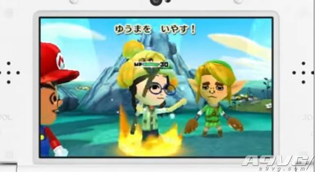 《Miitopia》游戏介绍及Amiibo联动预告片公开