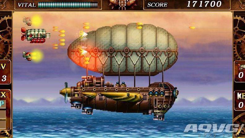 MD经典STG复活 《钢铁帝国》将会登陆Steam平台