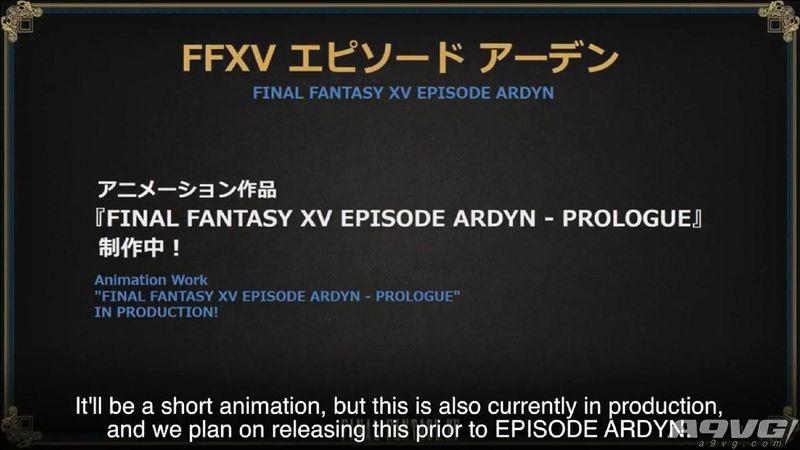 《最终幻想15》宰相亚丹DLC于2019年3月推出 还会制作动画