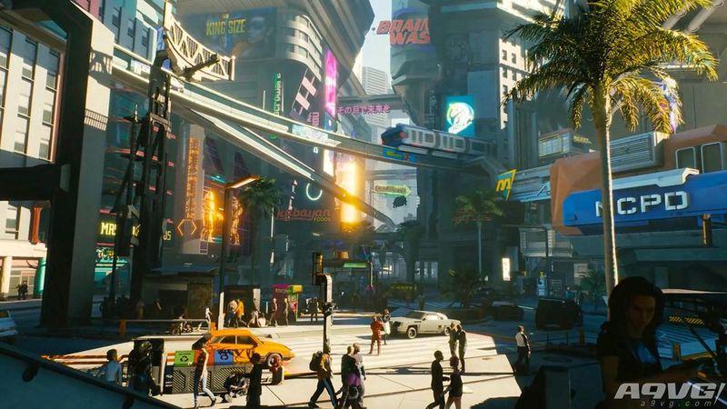 《赛博朋克2077》夜之城最初的原型来自于《模拟城市》