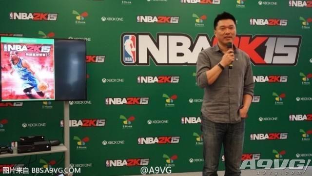 《NBA2K15》国行XBOX ONE版4月30日开售