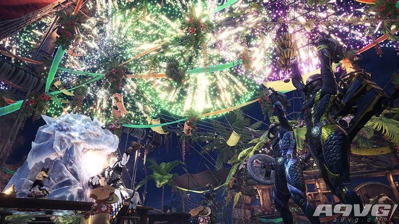 《怪物猎人世界》纳凉之宴将于7月13日开始7月27日结束