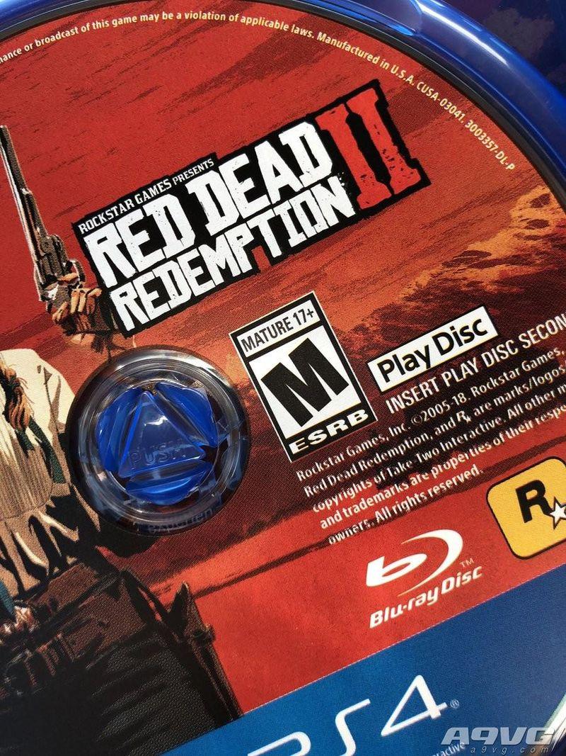 《荒野大镖客2》实体版双光盘用途判明 一张安装一张游玩