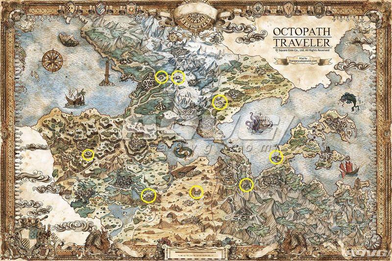 《八途旅人》副职业开启方法 八方旅人第二职业获得位置攻略