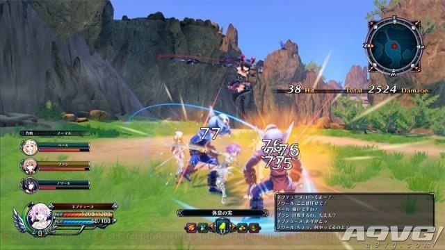 海王星最新作《四女神Online》虚幻4引擎画面公开