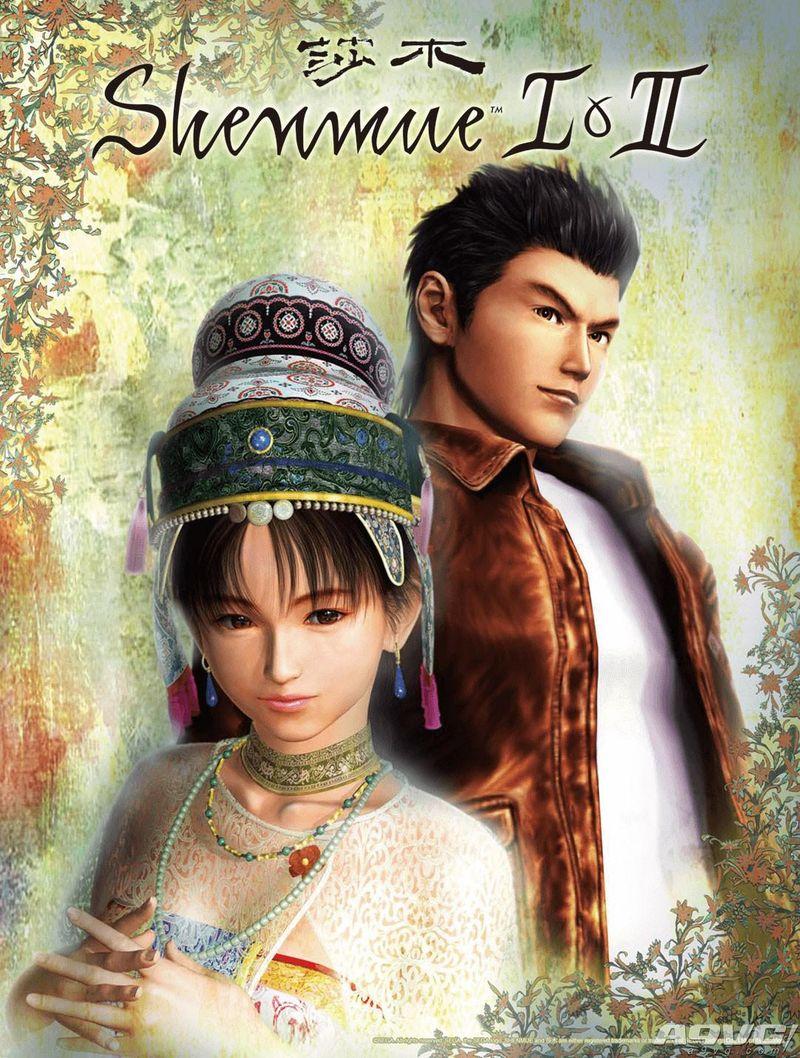 《莎木1&2》PS4繁体中文版8月22日发售 特典为双面海报