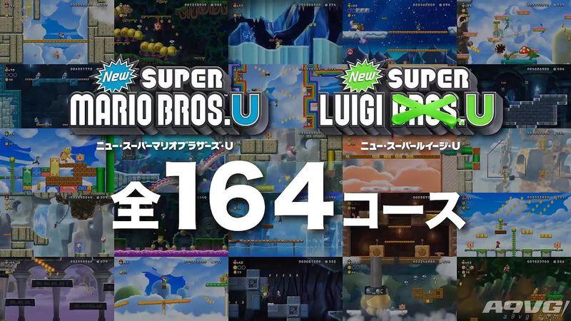《新超级马里奥兄弟U豪华版》最新介绍影像 1月11日发售