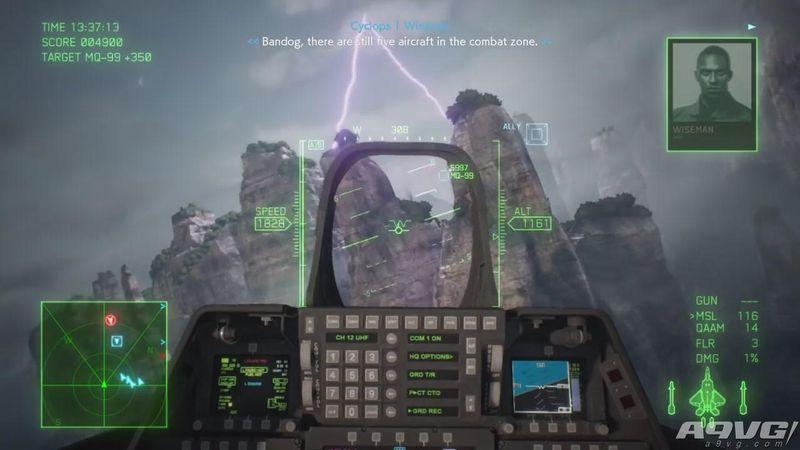 《皇牌空战7》公开全新实机试玩演示 视频总计22分钟