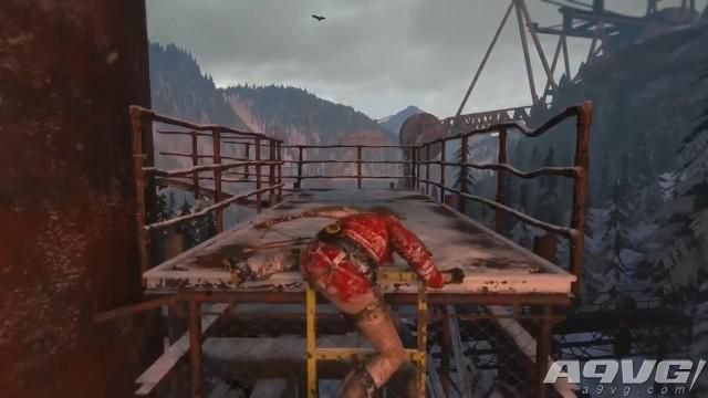 《古墓丽影 崛起》最新实际试玩战斗场景演示