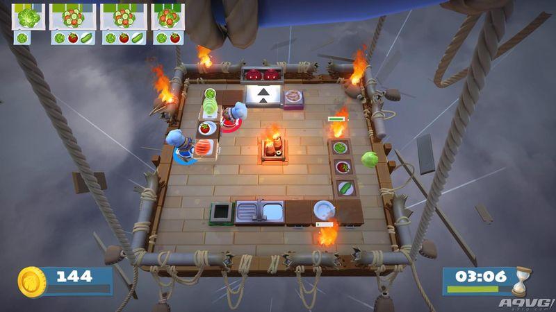 《胡闹厨房2》将更新 New Game+ 模式 追加四星挑战