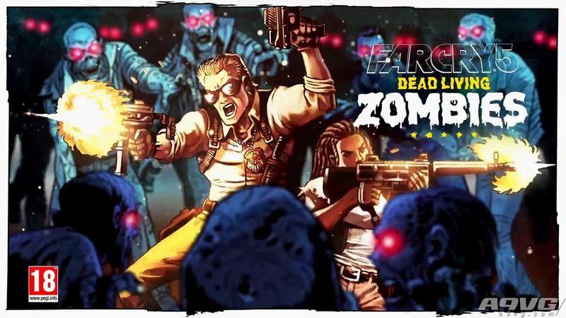 《孤岛惊魂5》第3个DLC活死人僵尸公布宣传片与推出日期