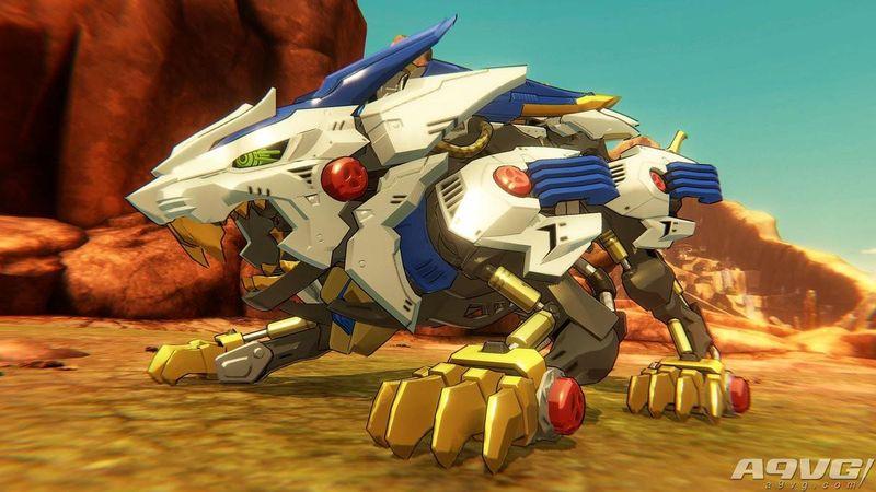 《索斯机械兽》Switch平台游戏新作公开第三张游戏画面