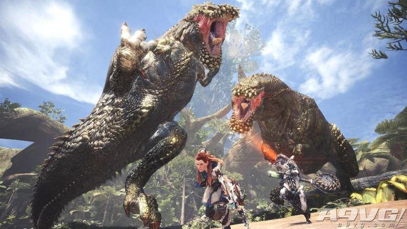 《怪物猎人世界》《地平线》第三弹联动任务今日上线