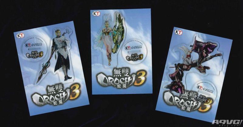 《无双大蛇3》公布繁体中文版首批购入特典及赠品
