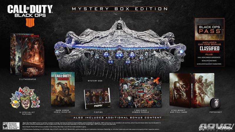 《使命召唤 黑色行动4》僵尸模式新预告 神秘盒限定版公布