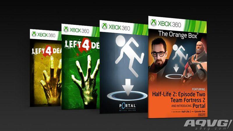 四款经典游戏添加X1X增强 半条命2、传送门、求生之路等